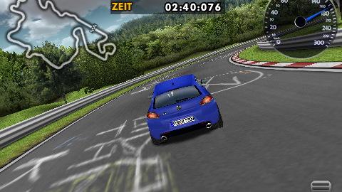 Volkswagen Scirocco Challenge app for iPhone