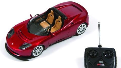 Remote-Controlled Tesla Roadster