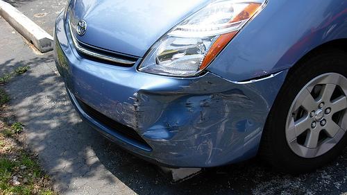 Toyota Prius body damage