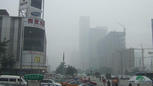 Beijing Smog by Flickr user michaelhenley
