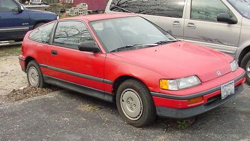 Renee Zellweger's 1988 Honda CRX [via eBay Motors]