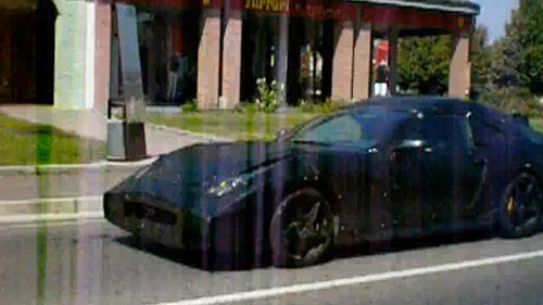 Mysterious Ferrari prototype in Maranello