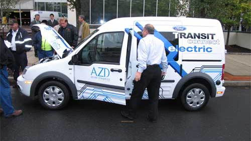 Ford Azure Transit Connect Commercial Van