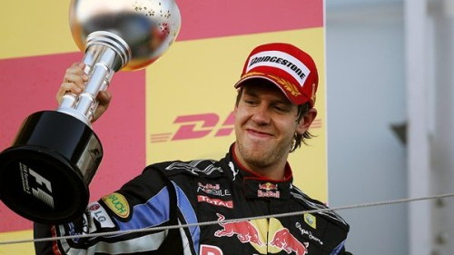 Sebastian Vettel at the 2010 Japanese Grand Prix