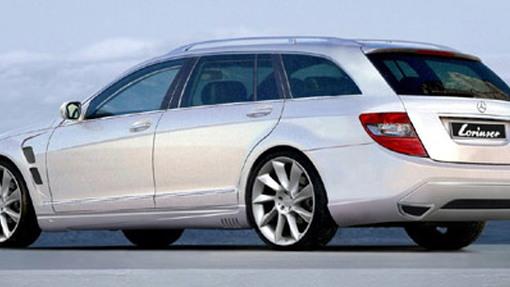 Lorinser prepped Mercedes C-Class Estate