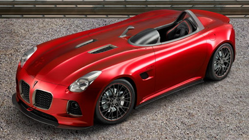 Pontiac to show Solstice SD-290 Race Concept at SEMA