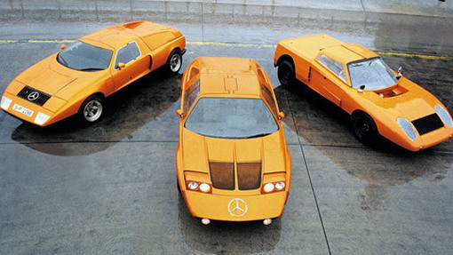 Blast from the past: Mercedes-Benz C111