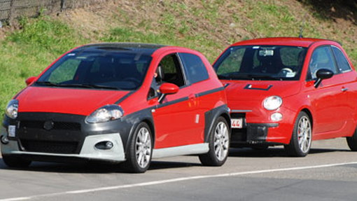 Spy Shots: Fiat's Abarth Punto and 500 hot-hatches