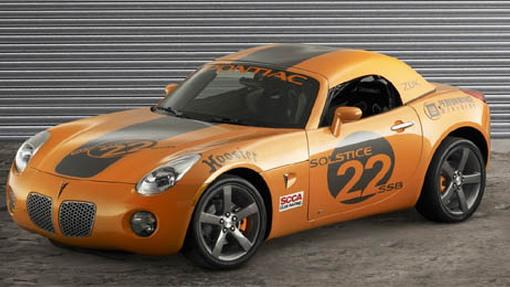 Pontiac Solstice Club Sport Z0K & GXP-R at SEMA