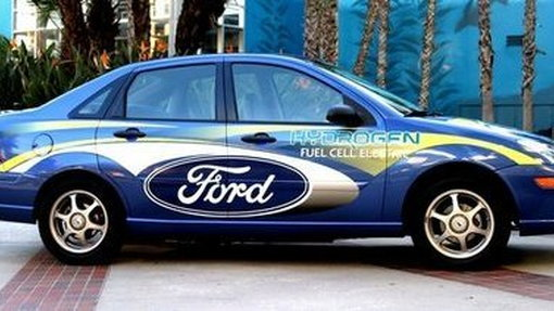 Ford displays million dollar Fuel Cell Focus at Woodward