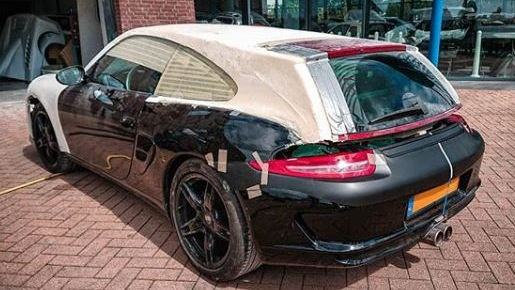 Porsche Boxster Shooting Brake project