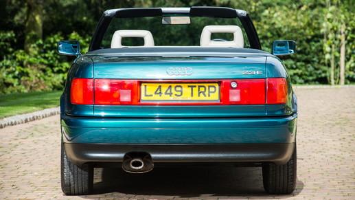 Princess Diana's 1994 Audi 80 Cabriolet