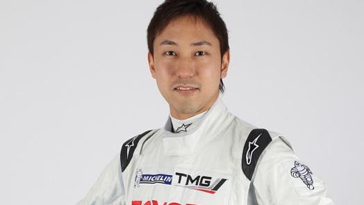 Hiroaki Ishiura - photo courtesy Toyota Racing