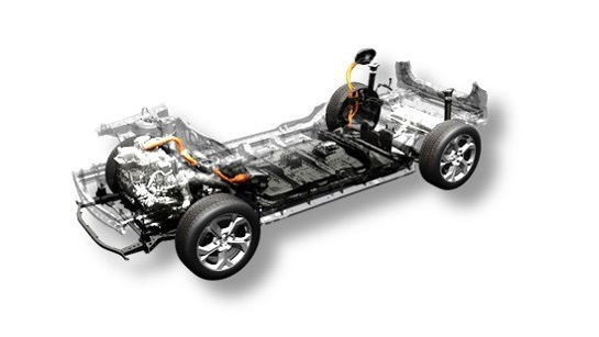 Mazda rotary range-extended powertrain