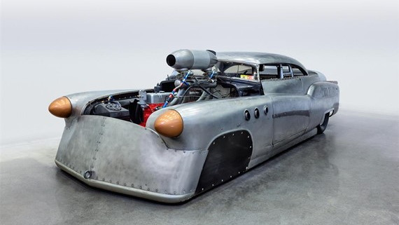 "Jeff Brock's 1952 Buick Super Riviera ""Bombshell Betty"""
