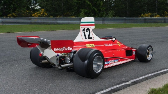 Niki Lauda-driven 1975 Ferrari 312T F1 car