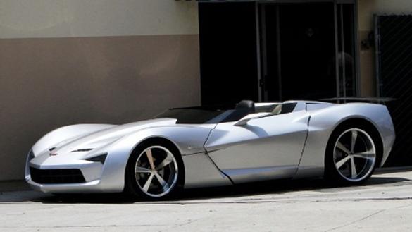 Chevrolet Corvette Stingray Concept spied as convertible in L.A.