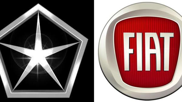 Chrysler and Fiat logos