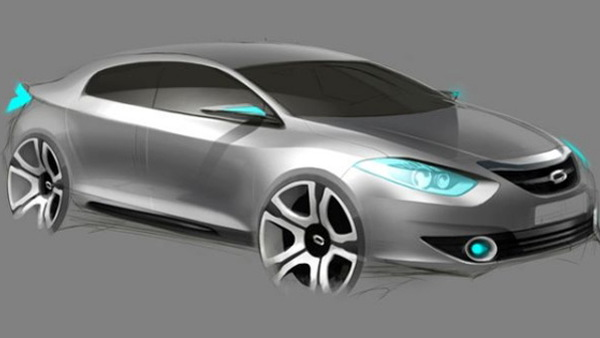 renault samsung emx sm3 concept sketch 001