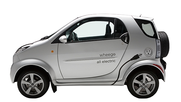 2011 Wheego Whip LiFe electric car