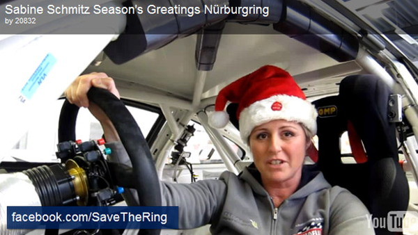 Sabine Schmitz asks you to help save the 'Ring