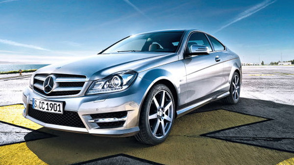 2012 Mercedes-Benz C-Class Coupe leak