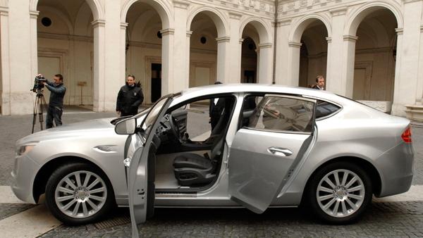 2011 De Tomaso SLC Concept