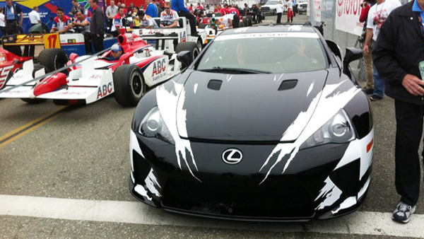 2012 Lexus LFA official pace car