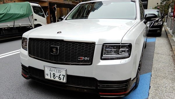 Toyota Century GRMN belongs to Toyota CEO Akio Toyoda