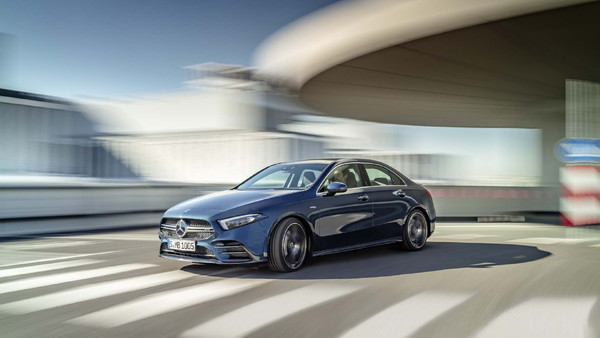 Permalink to 2020 Mercedes-AMG CLA35: Small, Punchy, And Gorgeous