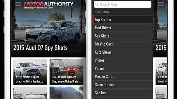 Motor Authority iOS App
