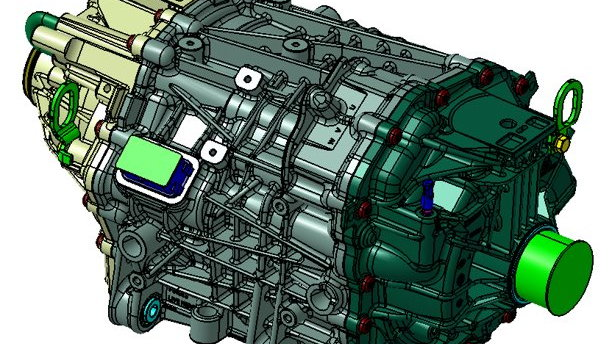 Ford Eluminator electric crate motor