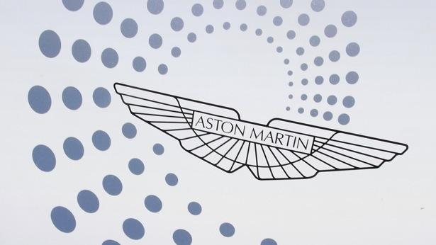 Dr. Ulrich Bez's Vantage GT4, showing Aston Martin's centenary logo