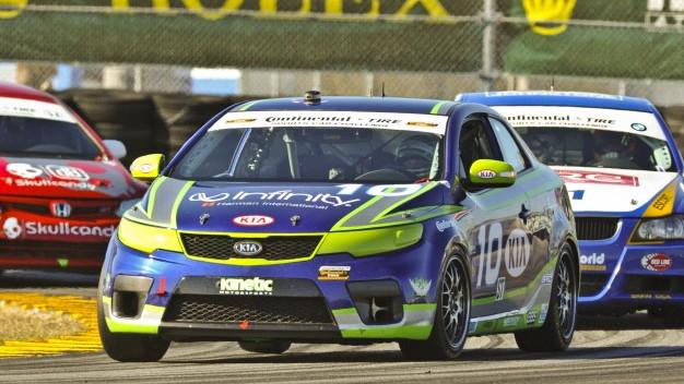 Kia Forte Koup - Kinetic Motorsports Grand-Am Race Cars