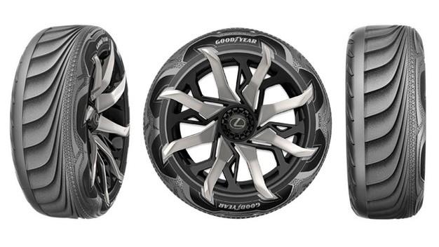 Goodyear Triple Tube concept tire
