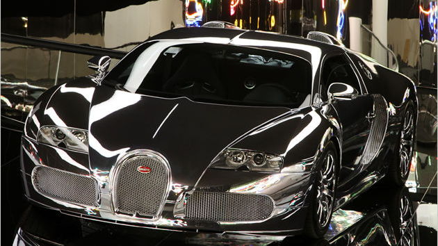 mirror finish bugatti veyron 002
