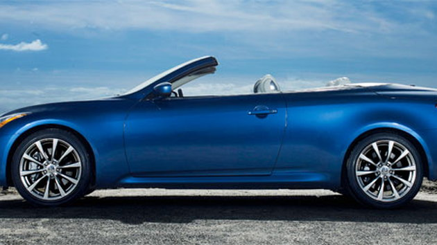 Infiniti G37 Convertible on sale for official start of summer