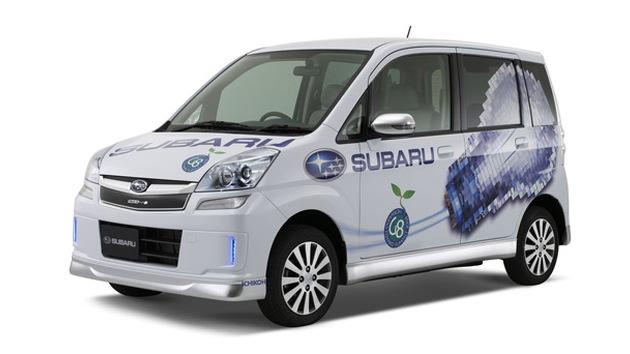 Subaru Stella electric minicar concept