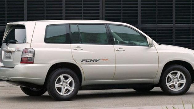 The Highlander FCHV fuel-cell vehicle concept