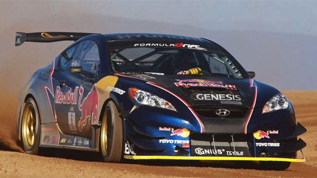 Genesis Coupe at Pikes Peak