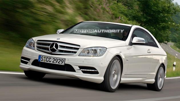2012 Mercedes-Benz C-Class Coupe rendering