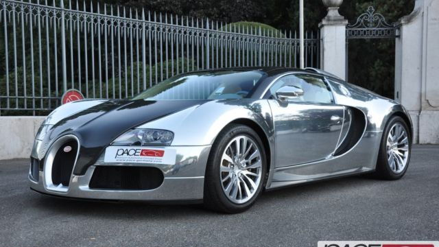 #01 Bugatti Veyron Pur Sang up for auction. Images via PACE Germany.