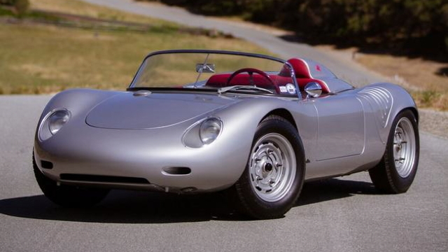 1960 Porsche RS60 Spyder - image credit Mike Maez, Gooding & Company