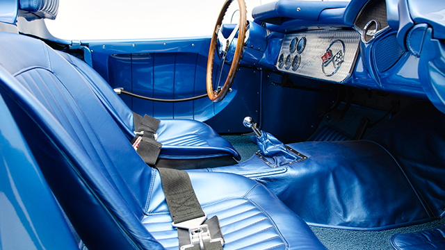 1956 Chevrolet Corvette SR-2 race car. Photo via Corvette Mike.