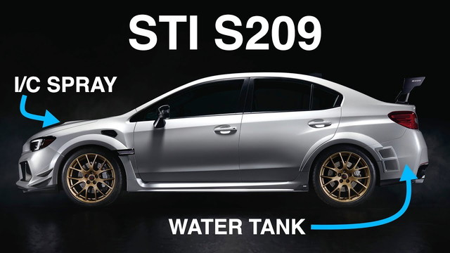Subaru WRX STI S209 Engineering Explained