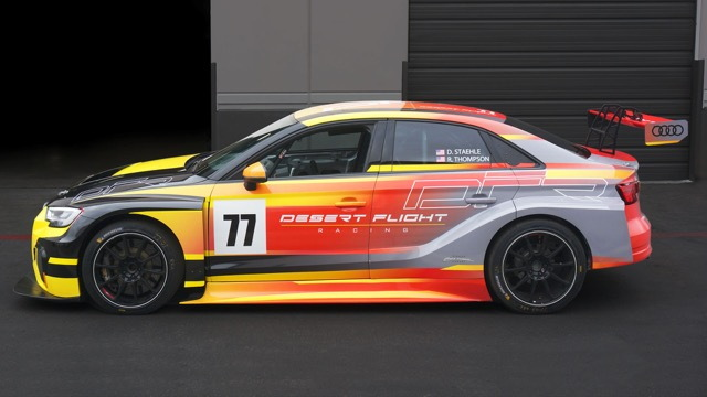 Desert Flight Racing RS 3 livery by Michael Santoro