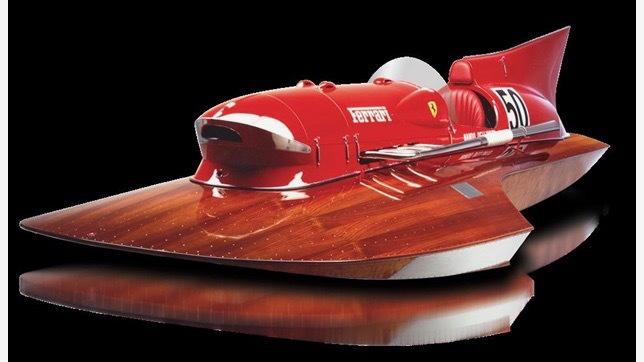 Ferrari Arno XI race boat (Photo by DuPont Registry)