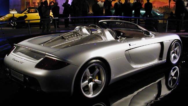 Porsche Carrera GT, 2003 Geneva Auto Show