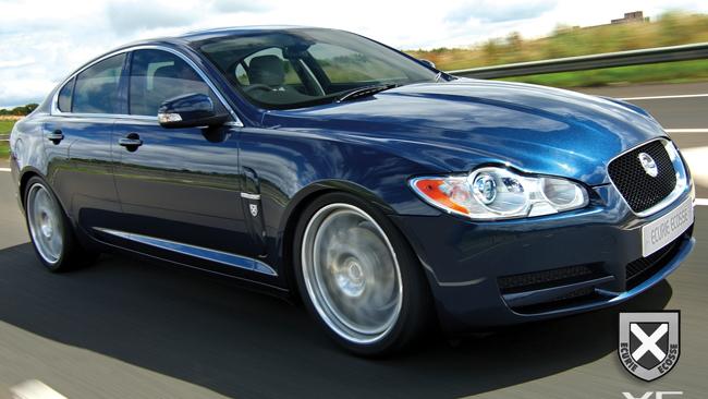 ecurie ecosse jaguar xf motorauthority 001
