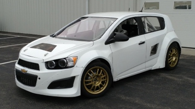 The Newest Global RallyCross Car Is A ... Chevy Sonic?